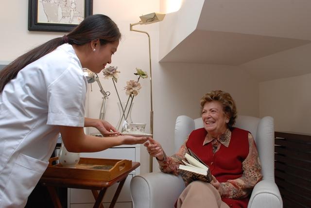 Características de la empleada del hogar en la asistencia domiciliaria